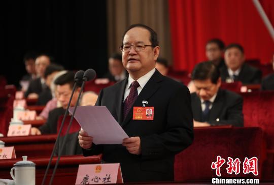 鹿心社当选江西省人大常委会主任刘奇为江西省长(图)
