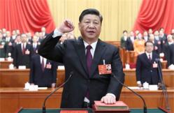 历史时刻:中国国家主席宪法宣誓纪实
