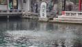 济南趵突泉水位持续下跌 距警戒线仅10余厘米