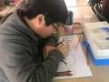 自闭症孩子画作走红 母亲:我儿子并不是绘画天才