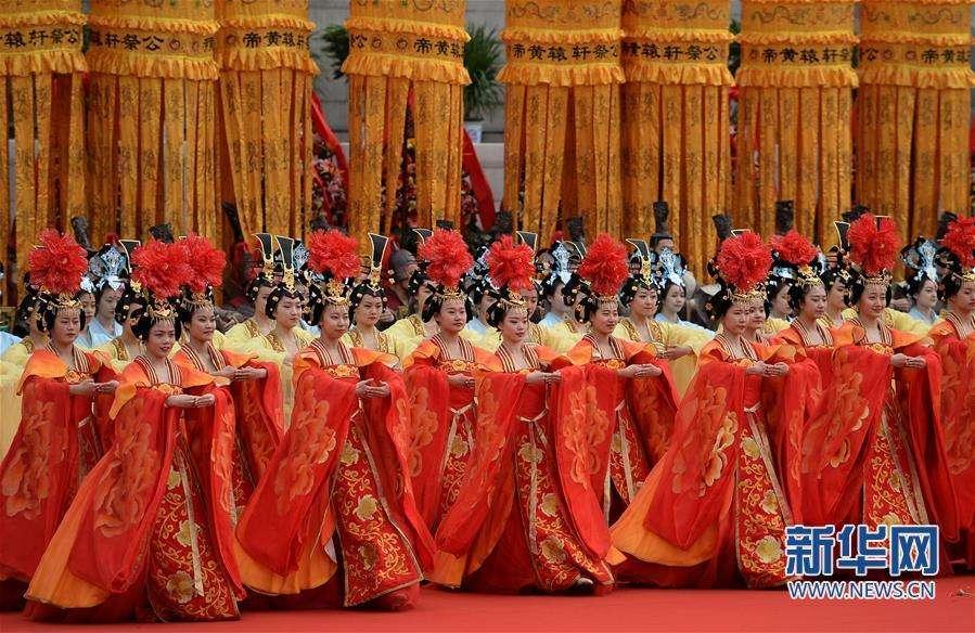 重庆市时时彩一等代理:台湾举办戊戌年轩辕黄帝拜祖大典 吴敦义为主拜官