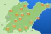 雨来了!山东雷电黄色预警 淄博、潍坊、莱芜有雷雨