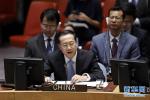 """中国代表强调""""两国方案""""是化解巴以冲突的根本出路"""