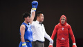 亚运武术女子散打60kg级决赛 蔡颖颖摘金