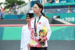 创造历史!张鑫获亚运会滑板女子碗池项目铜牌