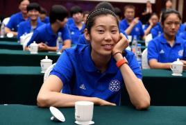 朱婷荣获全国三八红旗手称号 体育界唯一代表!
