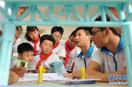 河北海兴:留守儿童乐享暑假
