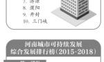 河南城市可持续发展报告发布:郑州、许昌、洛阳排前三