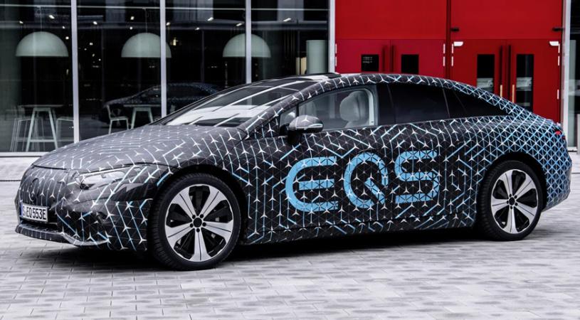 奔驰EQS确认搭载108kWh大型电池组