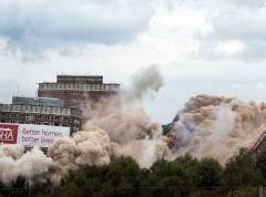 7秒钟英国6栋高楼被同时炸毁