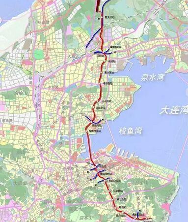 大连地铁5号线动真格 快来看看有哪些权威线路信息图片