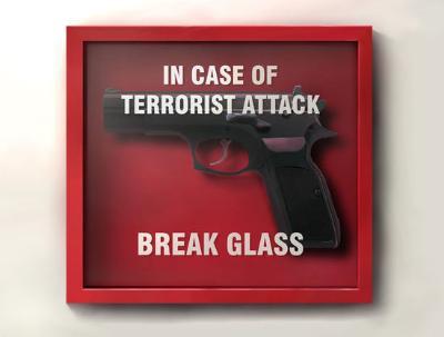 玻璃/恐怖袭击