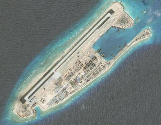 简氏称中国用永暑岛机场开展南海上空的空中巡逻
