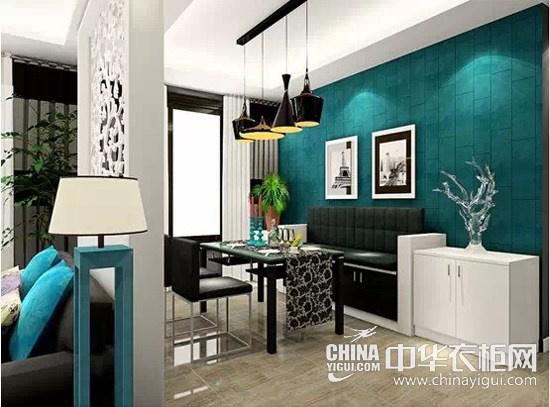 隔断,将餐厅空间从客厅中独立开来