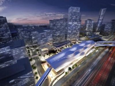 扎哈设计的灵动花纹地铁站-中国搜索家居