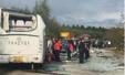 黑龙江客车与货车相撞致6死7伤  肇事司机被控制