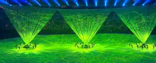 里约奥运会开幕式精彩瞬间:文艺表演文化展示