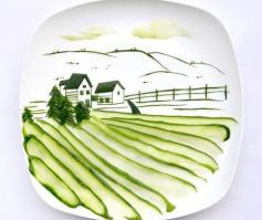 趣味图片:有趣的食物艺术