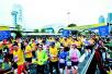 2017武汉马拉松落幕 2.2万选手雨中奔跑