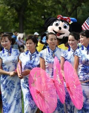 中美旅游年活动在白宫南草坪举行