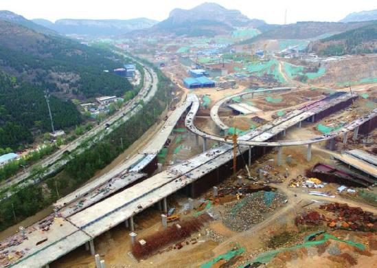 最大 济南/核心提示:搬倒井互通立交桥工程建成后,将是现今济南最大、...