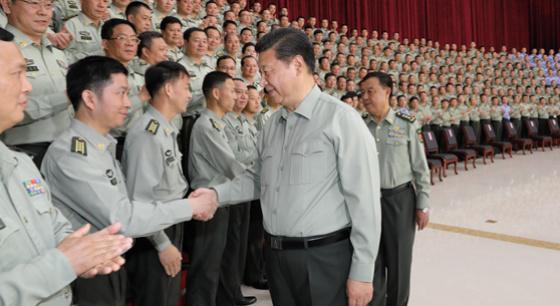习近平视察南部战区陆军机关并发表重要讲话