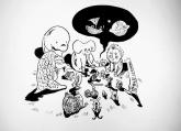 留下孩子童年!武汉老爸每天为女儿创作一幅画 感动网友(图)