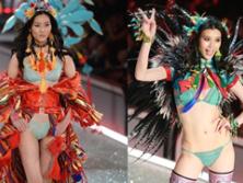 维秘内衣秀场 中国超模走出了中国风