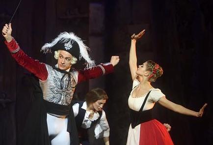 芭蕾舞剧:巴黎的火焰