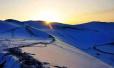 敦煌的冬天:如画入心 落雪成诗