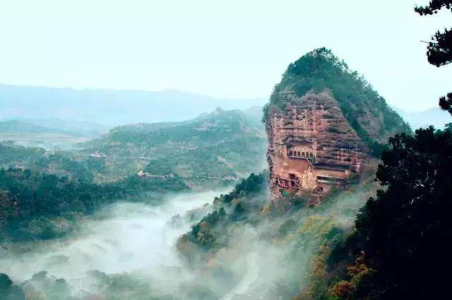 金沙网上娱乐网址:【天水旅游】麦积山:镌刻在绝壁上的佛国世界
