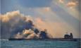 """交通部""""辟谣"""":东海撞船油轮并未涉及重质原油"""
