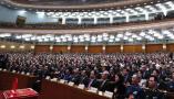 十三届全国人大一次会议举行第六次全体会议