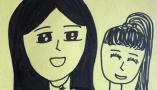 浙江9岁女孩画胃癌妈妈:是不是我好好画了,妈妈就会好起来
