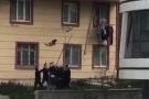 惊险但暖心!杭州一孩子三楼落下,一群陌生人伸出双手成功接住