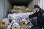 哈尔滨海关查证走私俄罗斯固体废物2141吨
