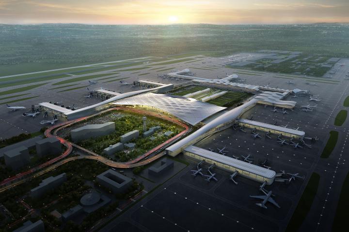 杭州机场_杭州萧山机场三期9月底动工 新建航站楼面积大一倍