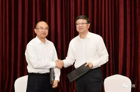共同签署框架协议