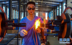 阜城:特色工艺玻璃制品远销海外