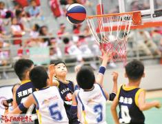 洛阳市第二届幼儿篮球联赛举行