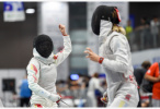 击剑世锦赛:傅依婷晋级女子花剑64强