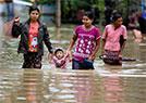 缅甸洪水泛滥