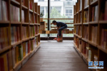 衡水市图书馆开馆试运行吸引大量市民前来阅读