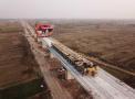 工期提前11天 鲁南高铁临沂至曲阜段1256孔箱梁架设完成