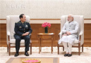 印度总理莫迪会见魏凤和