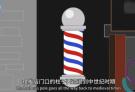 理发店门口的旋转三色柱是干嘛的?