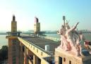 南京长江大桥文物修缮进入收尾阶段 桥头堡露真容