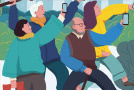 """口碑发布""""重阳老友记"""":银发族手机点单增速超中青年3%,最爱江浙菜"""