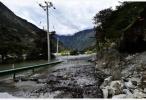 雅鲁藏布江堰塞体出现过流 上游监测站水位已下降8.7米