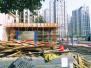 郑州一小区健身场地盖房屋 物业:是否有手续不清楚